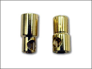 XPS 6mm bullet connector pair