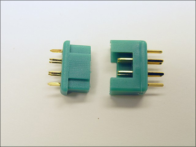 Multiplex Connector Pair - 6 pin