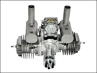 RCGF 120cc twin gas engine