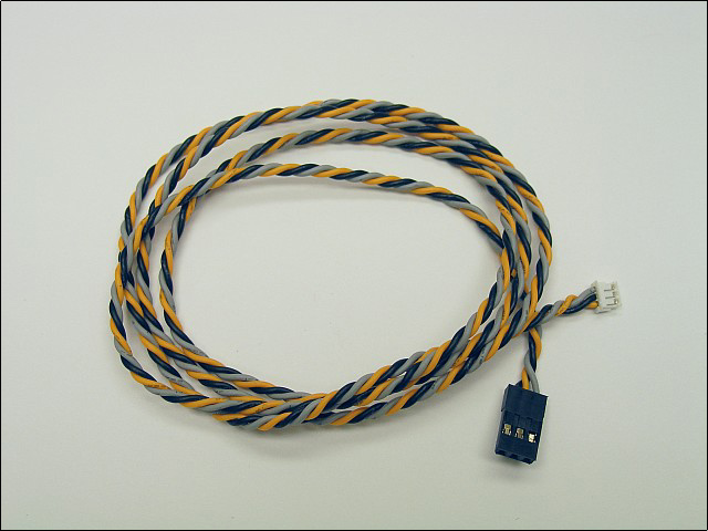 "Ultra-Twist JR female to JST PH female cable (37"")"