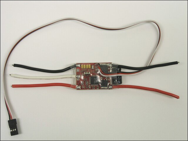 25A speed controller (auto)