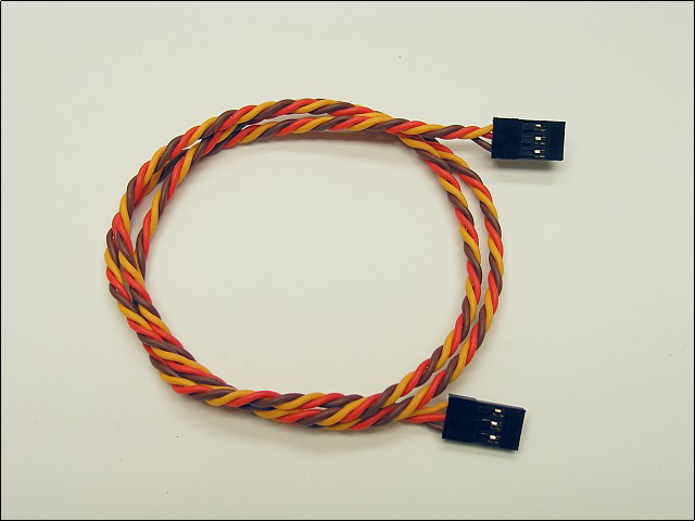 "Ultra-Twist JR female to female cable (25"")"
