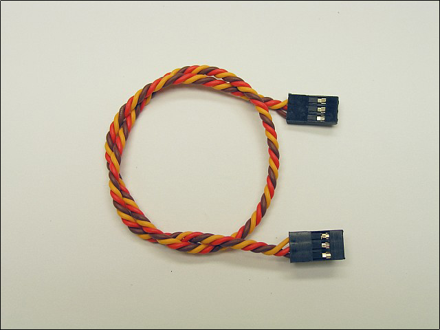 "Ultra-Twist JR female to female cable (12"")"